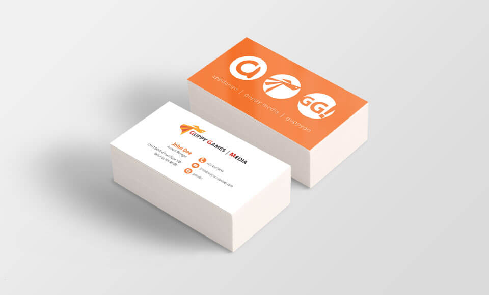 Guppy Media business cards