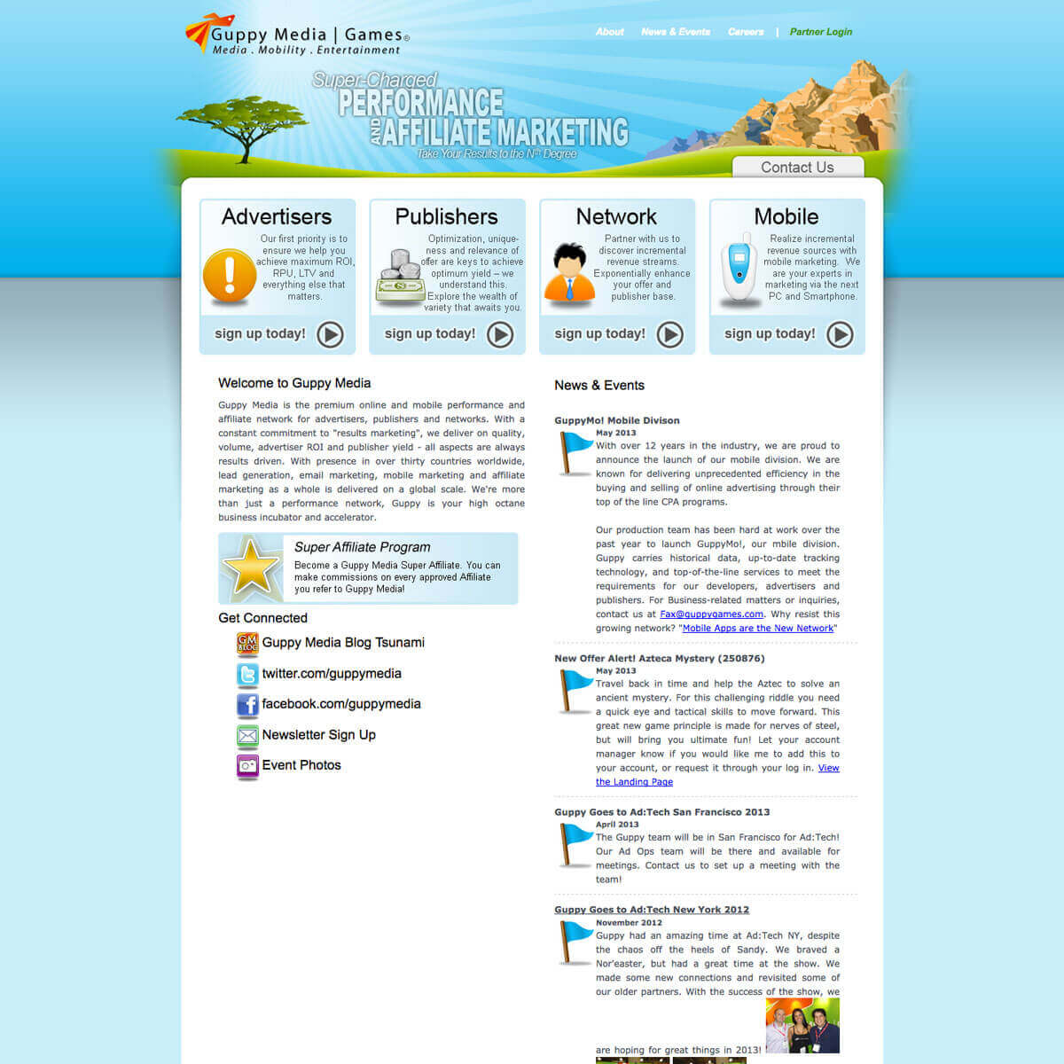 Previous Guppy Media website