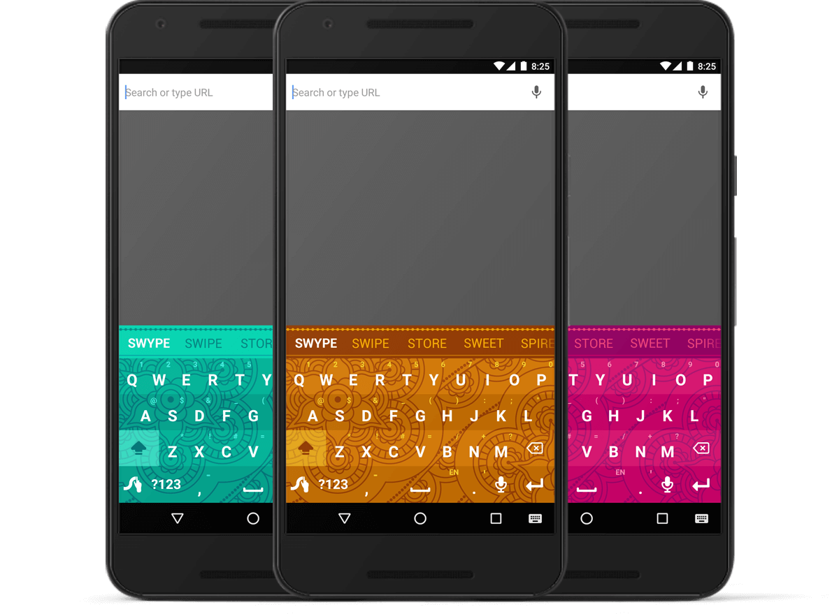 Swype Henna keyboard themes